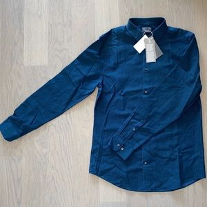 Brand New H&M Men's Button Down